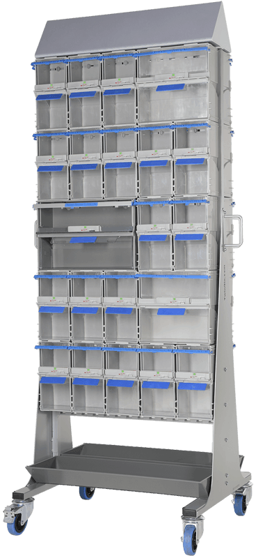 0.75rack with bins