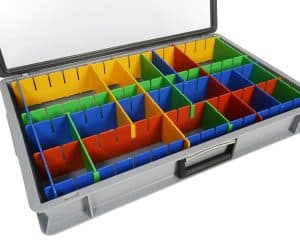 Partition Kitting Case by Twinbin.com