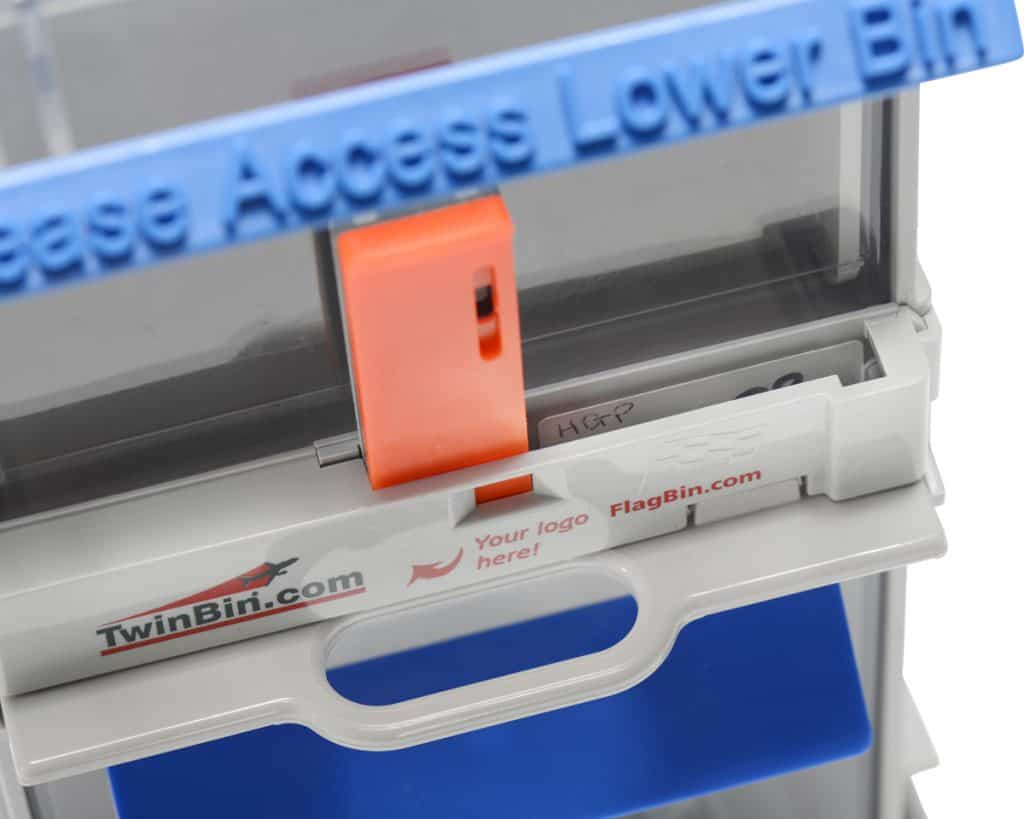 TwinBin RFID with RFID Tag