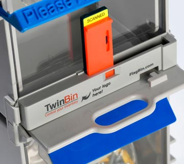 TwinBin accessories used to control your inventory and reduce stock outs.