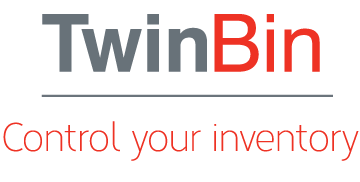 Twin Bin-Inventory management storage and dispensing solutions to save time, money and effort. Efficiently monitor stock levels and give alerts when running low.