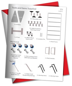 Racking assembly instructions