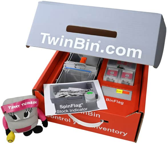 twinbin sample box