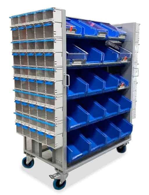 twinbin multipurpose cart